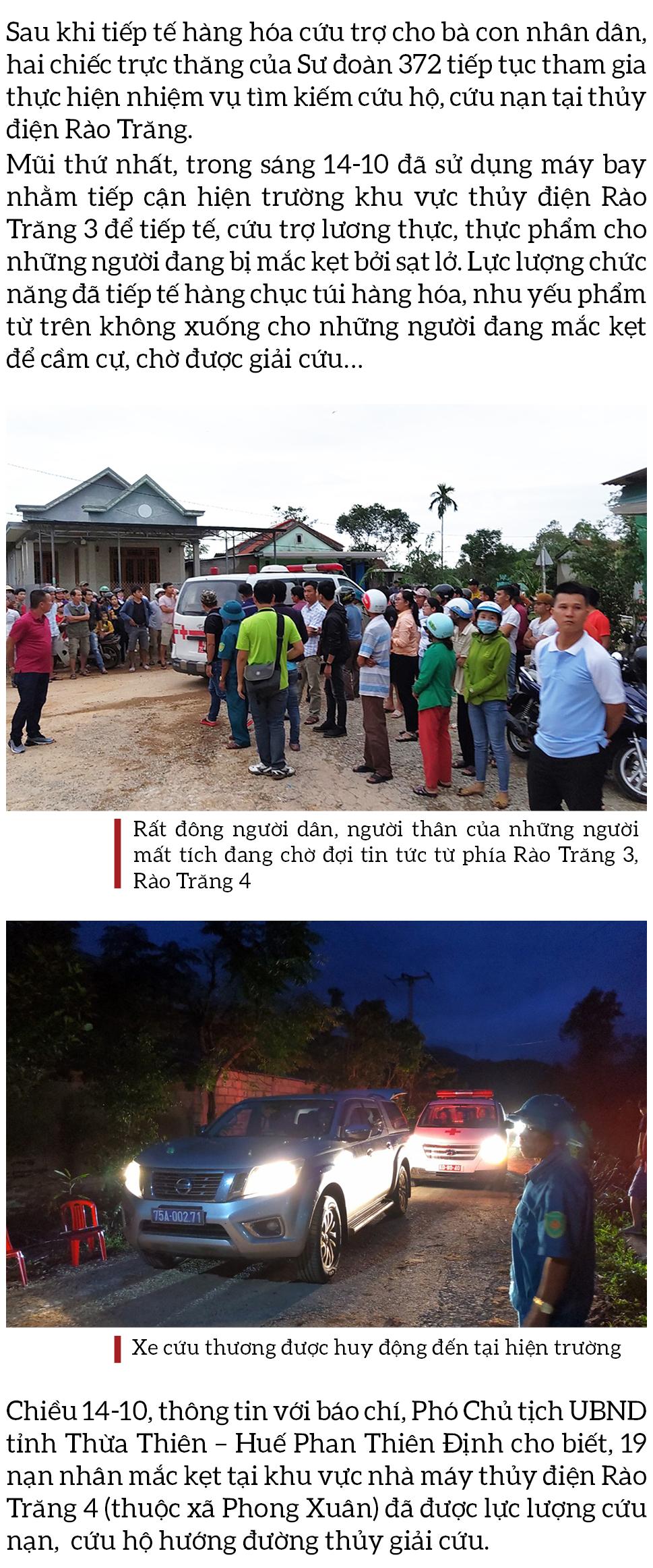 Toàn cảnh cuộc vượt rừng tìm kiếm, cứu nạn người mất tích ở Rào Trăng 3 ảnh 12