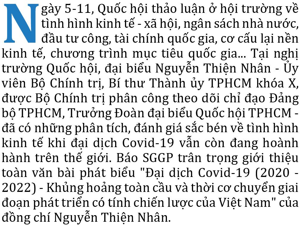 Đại dịch Covid-19 (2020 - 2022) - Khủng hoảng toàn cầu và thời cơ chuyển giai đoạn phát triển có tính chiến lược của Việt Nam ảnh 1