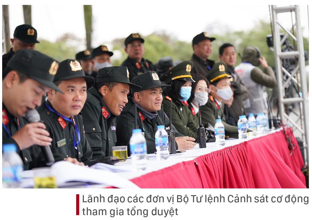 Các lực lượng tổng duyệt phương án bảo vệ Đại hội Đảng lần thứ XIII ảnh 8