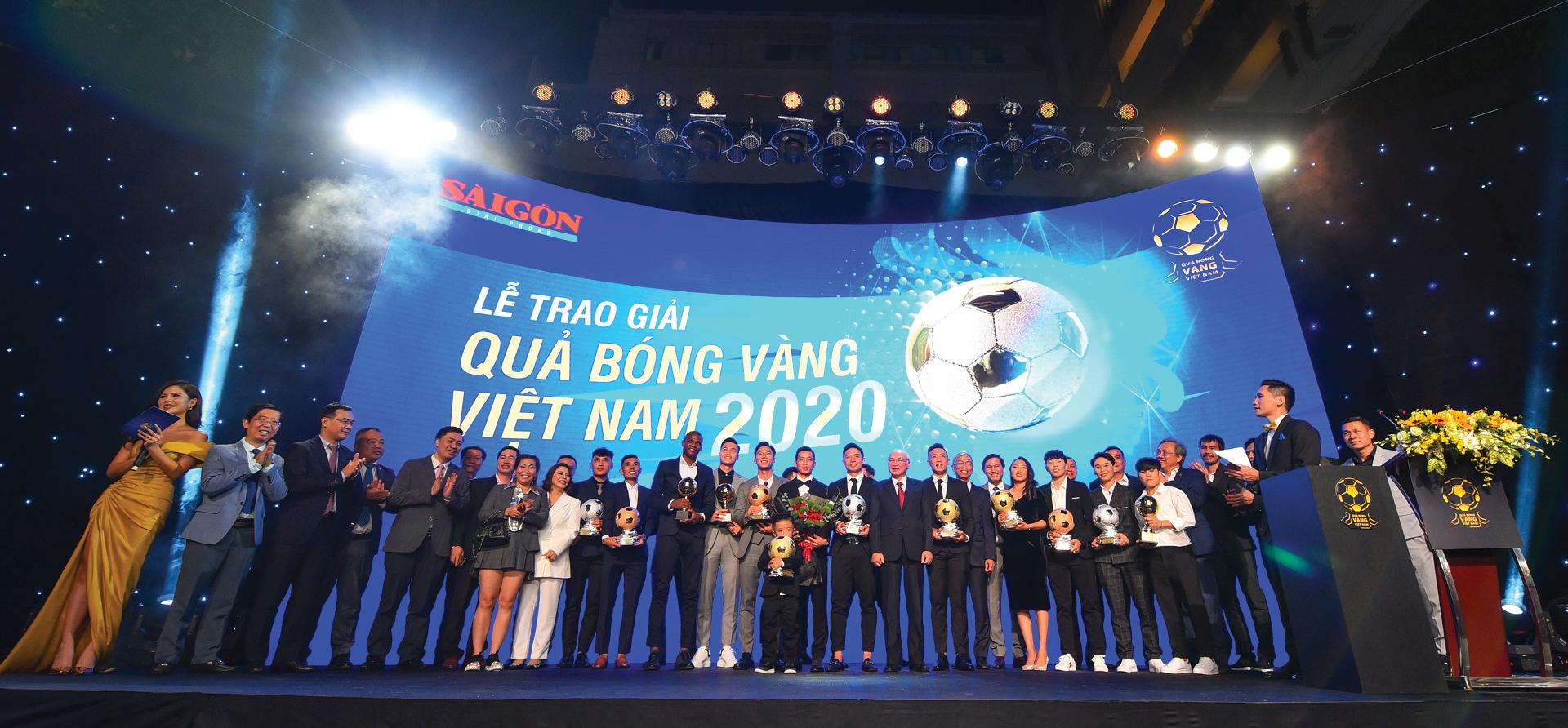 Quả bóng vàng Việt Nam 2020 - Thương hiệu và cảm xúc ảnh 15