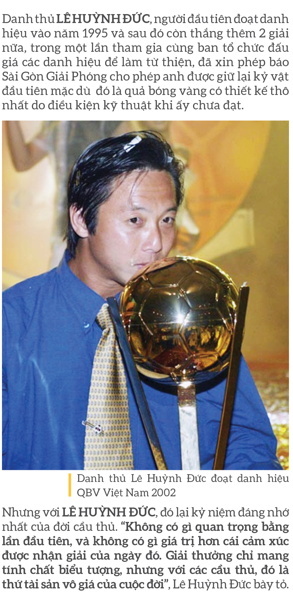Quả bóng vàng Việt Nam 2020 - Thương hiệu và cảm xúc ảnh 5