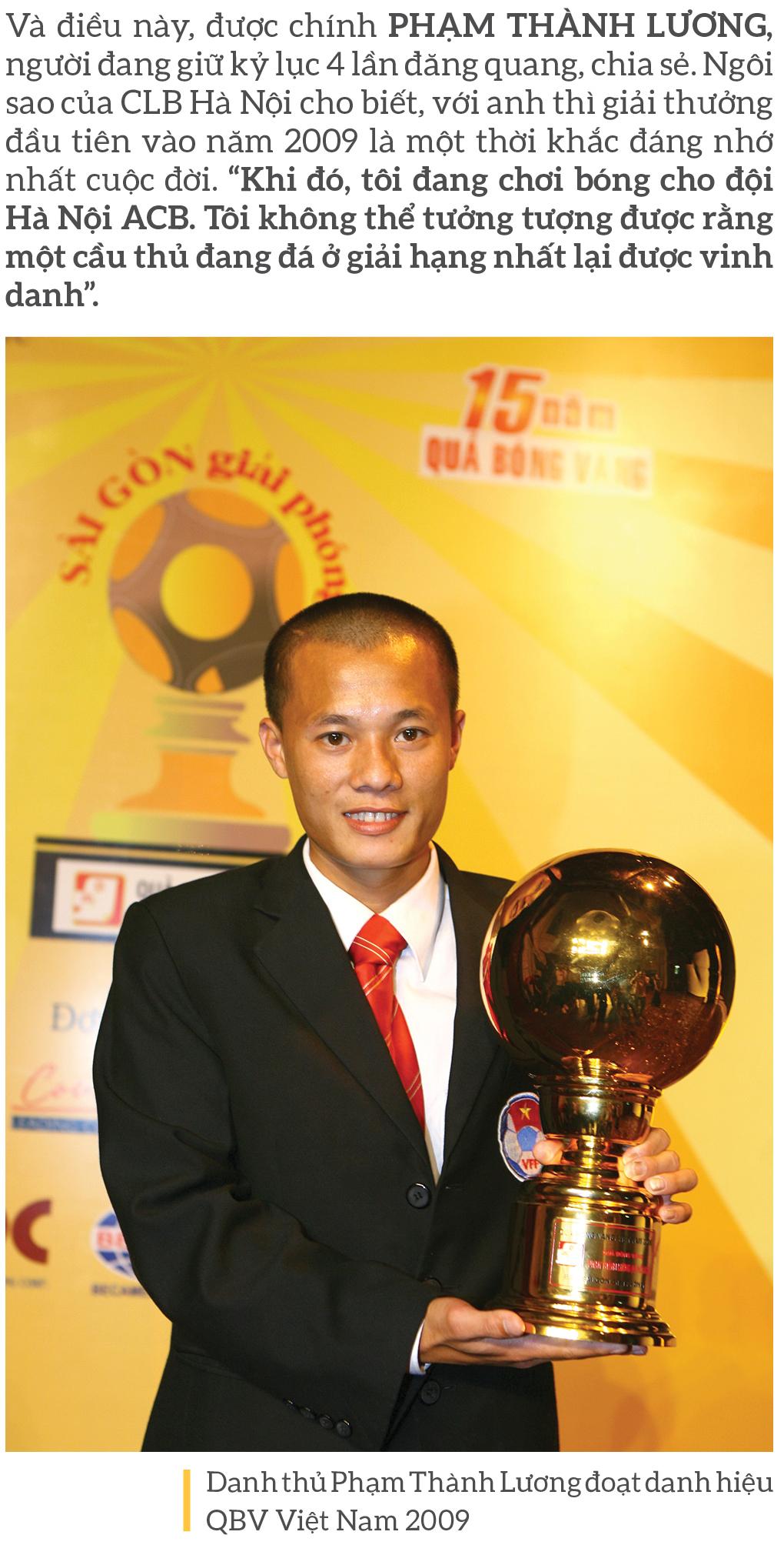 Quả bóng vàng Việt Nam 2020 - Thương hiệu và cảm xúc ảnh 6