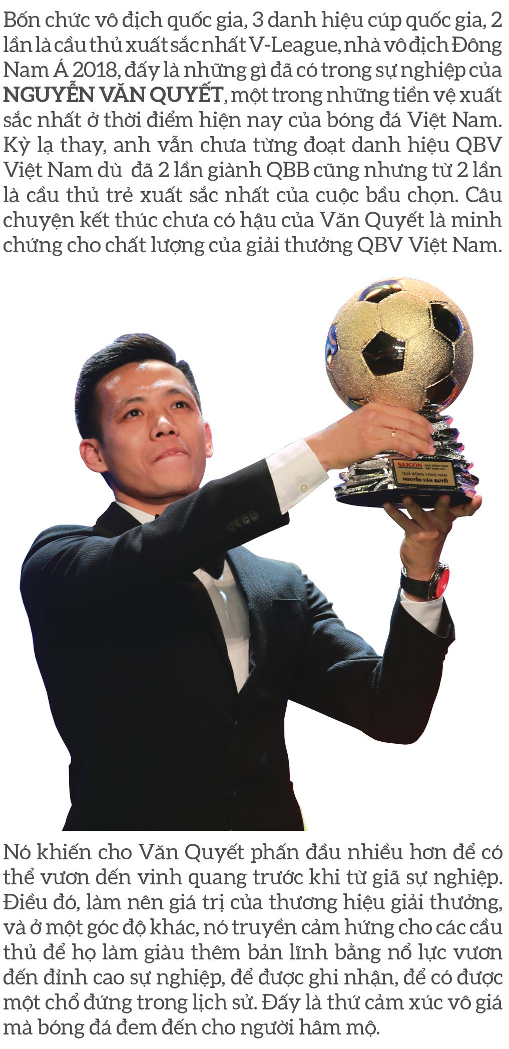 Quả bóng vàng Việt Nam 2020 - Thương hiệu và cảm xúc ảnh 10