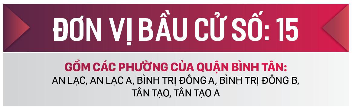 Danh sách chính thức những người ứng cử đại biểu HĐND TPHCM khóa X, nhiệm kỳ 2021 - 2026 - Đơn vị bầu cử số: 15, 16 (Quận Bình Tân) ảnh 1