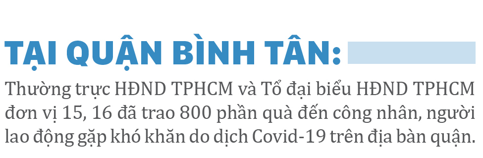Trao 10.000 phần quà ý nghĩa đến công nhân, người lao động gặp khó khăn do Covid-19 ảnh 18