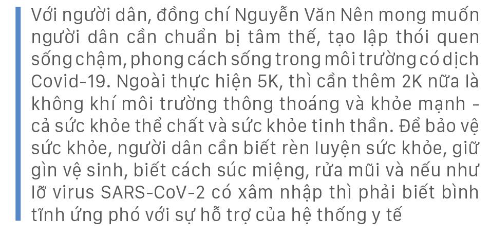 Những gợi mở của đồng chí Nguyễn Văn Nên về chiến lược sống có dịch Covid-19 ảnh 14