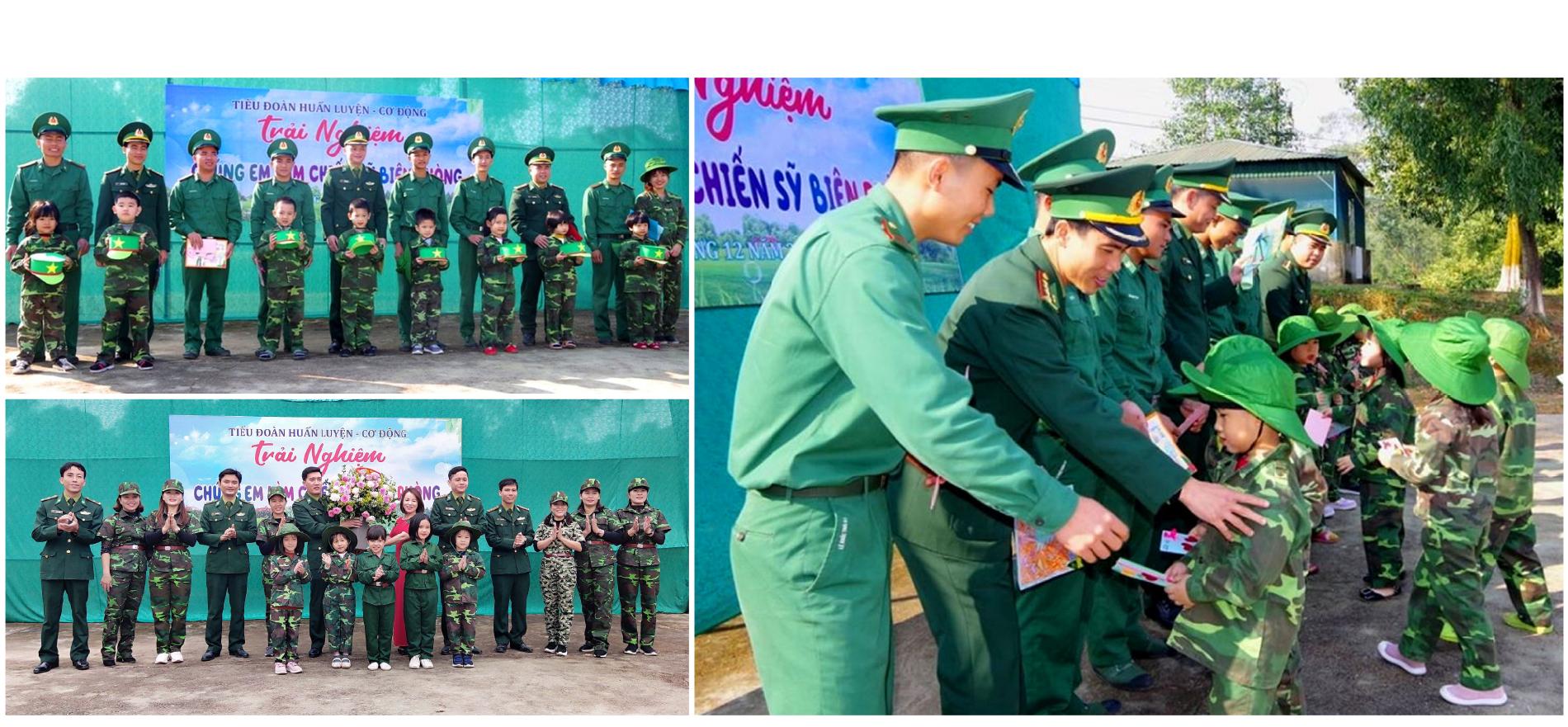 'Chúng em làm chiến sĩ biên phòng' tại Bộ đội Biên phòng Hà Tỉnh ảnh 16