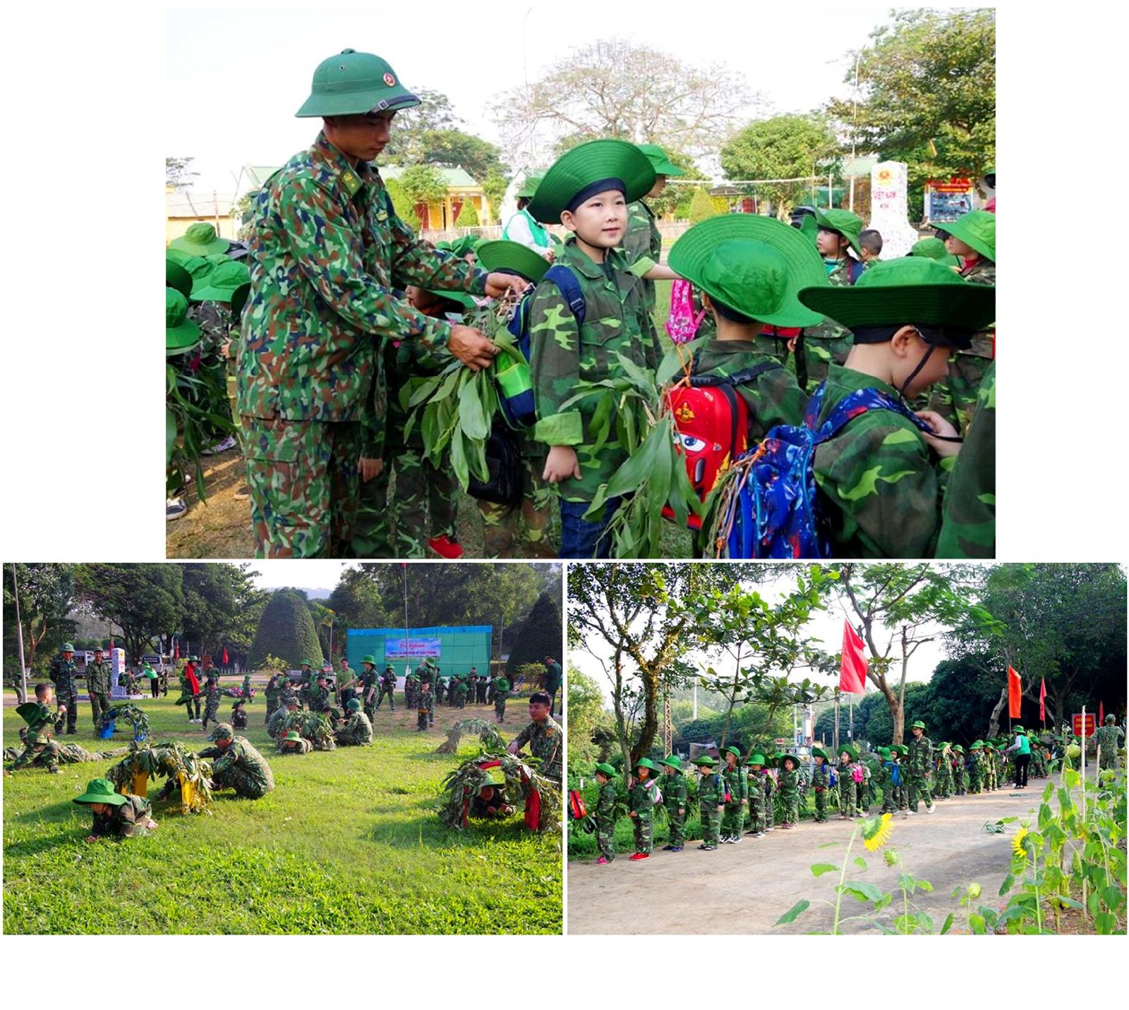 'Chúng em làm chiến sĩ biên phòng' tại Bộ đội Biên phòng Hà Tỉnh ảnh 9