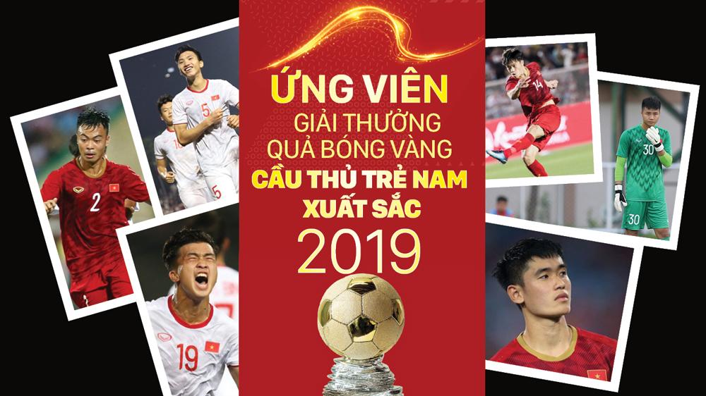 Ứng viên giải thưởng Quả bóng vàng cầu thủ trẻ nam xuất sắc 2019