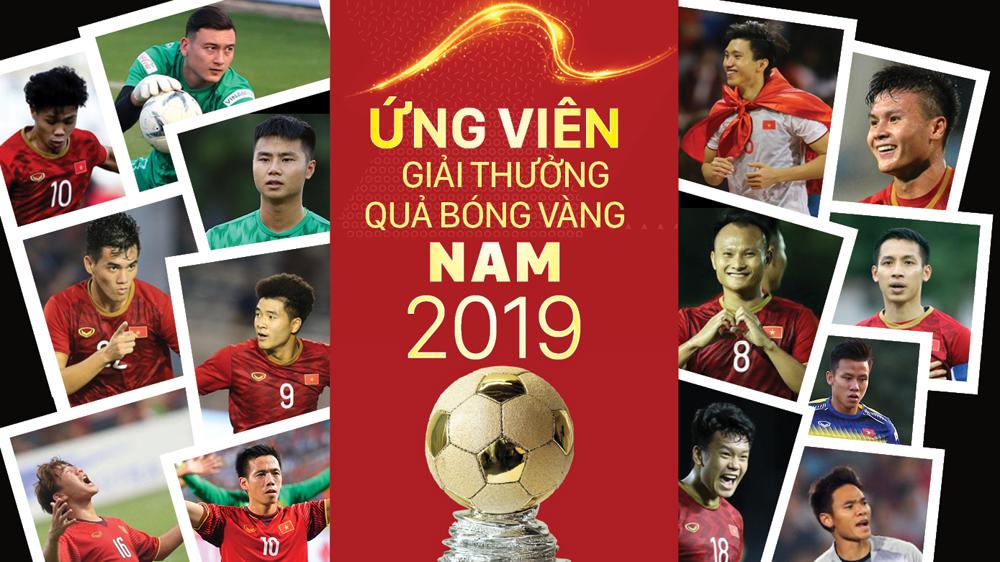 Ứng viên giải thưởng Quả bóng vàng nam 2019