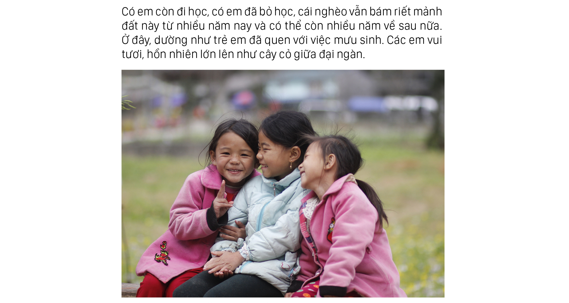 Những đứa trẻ mưu sinh giữa đại ngàn Hà Giang ảnh 7