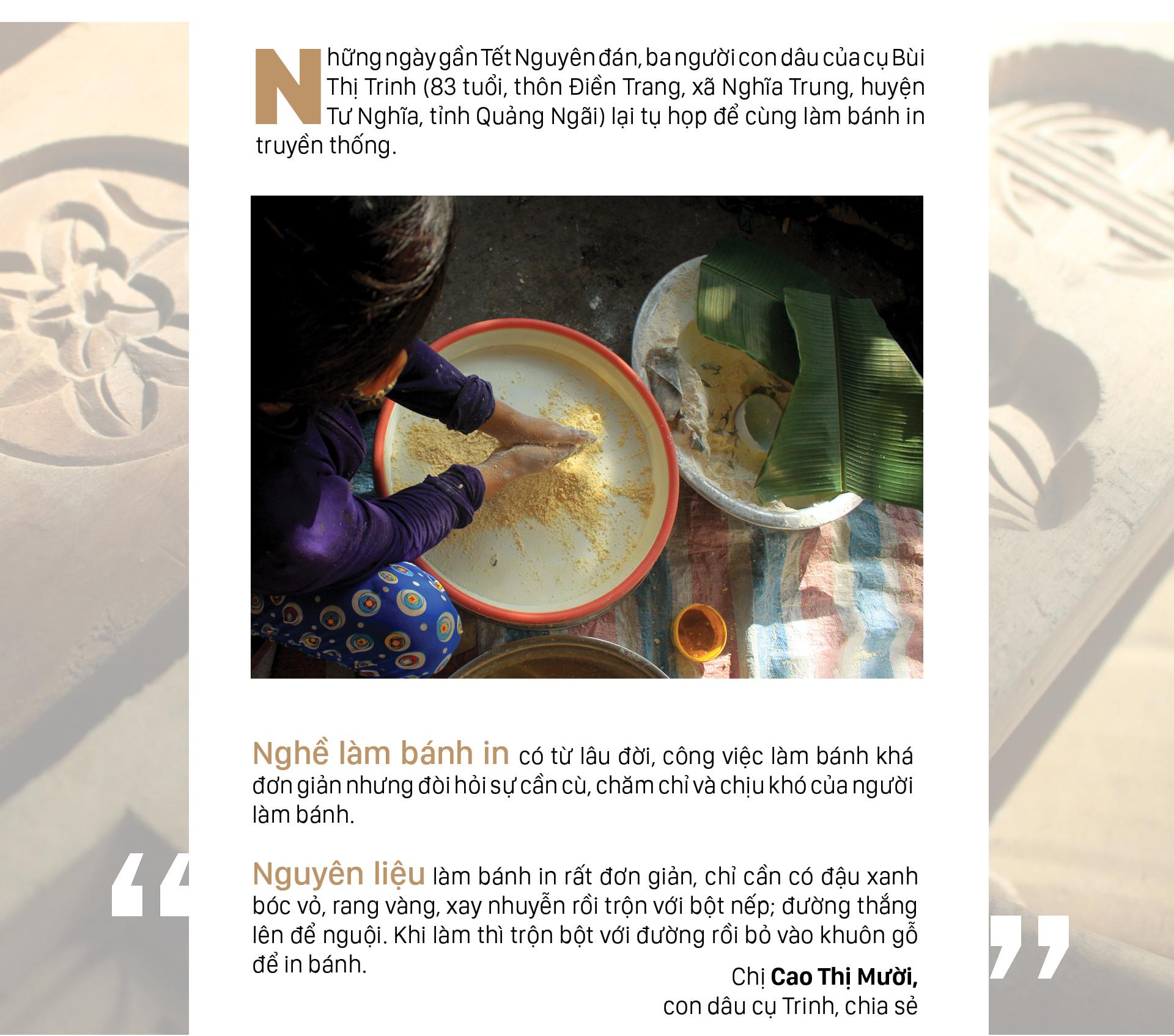 Gia đình hơn 4 đời gìn giữ nghề bánh in truyền thống ảnh 1