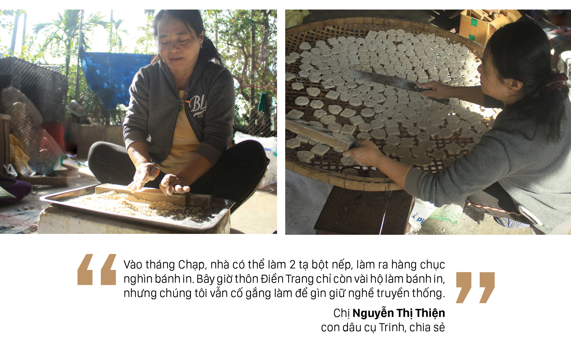 Gia đình hơn 4 đời gìn giữ nghề bánh in truyền thống ảnh 5