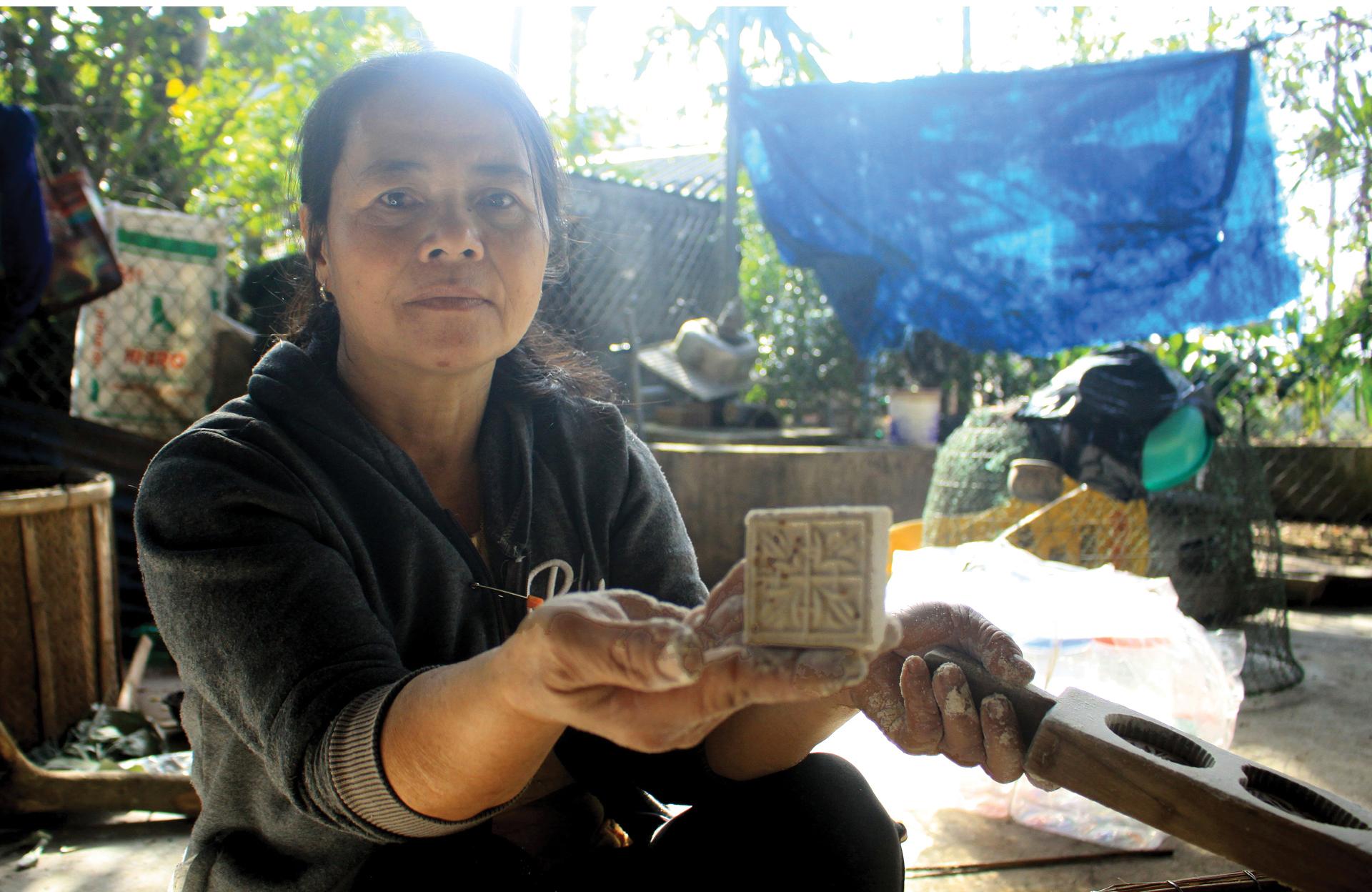 Gia đình hơn 4 đời gìn giữ nghề bánh in truyền thống ảnh 6