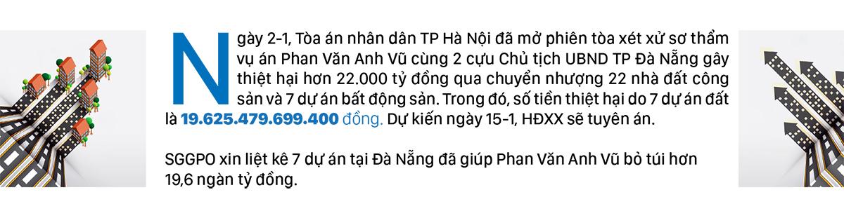 7 dự án tại Đà Nẵng giúp Phan Văn Anh Vũ trục lợi hơn 19,6 ngàn tỷ đồng ảnh 1
