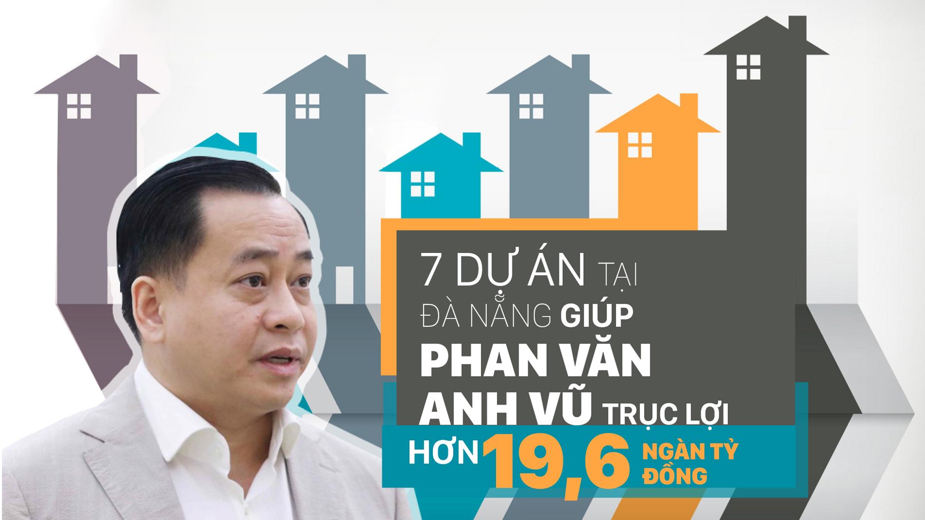 7 dự án tại Đà Nẵng giúp Phan Văn Anh Vũ trục lợi hơn 19,6 ngàn tỷ đồng