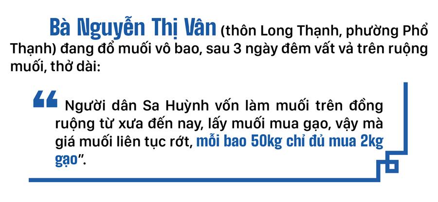 Lao đao nghề làm muối ở Sa Huỳnh, Quảng Ngãi ảnh 5