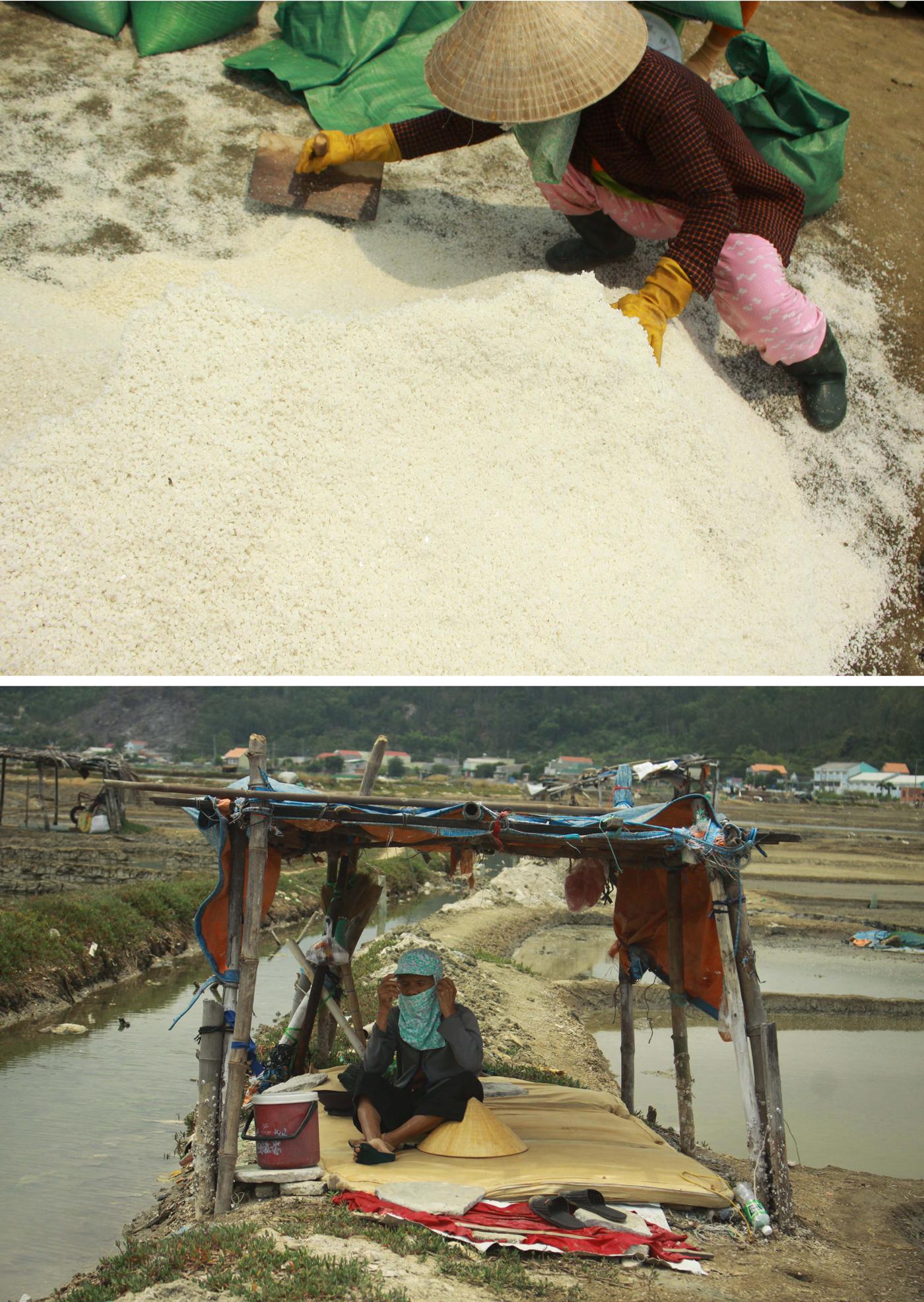 Lao đao nghề làm muối ở Sa Huỳnh, Quảng Ngãi ảnh 8