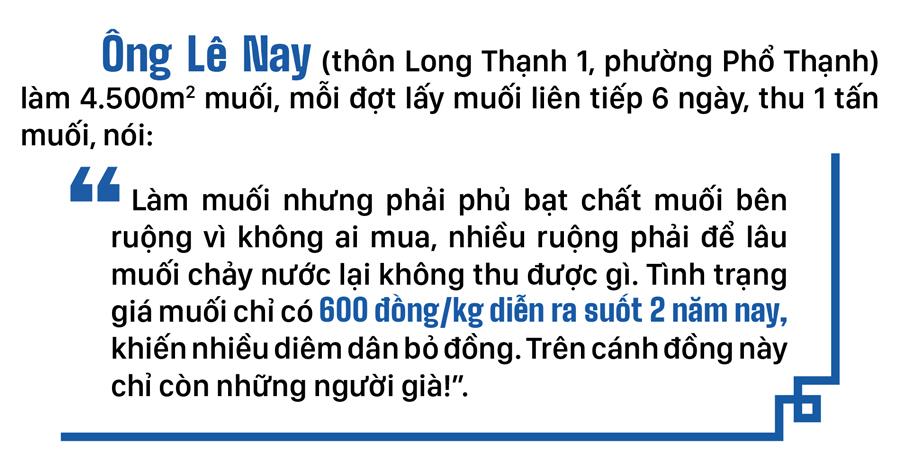Lao đao nghề làm muối ở Sa Huỳnh, Quảng Ngãi ảnh 9
