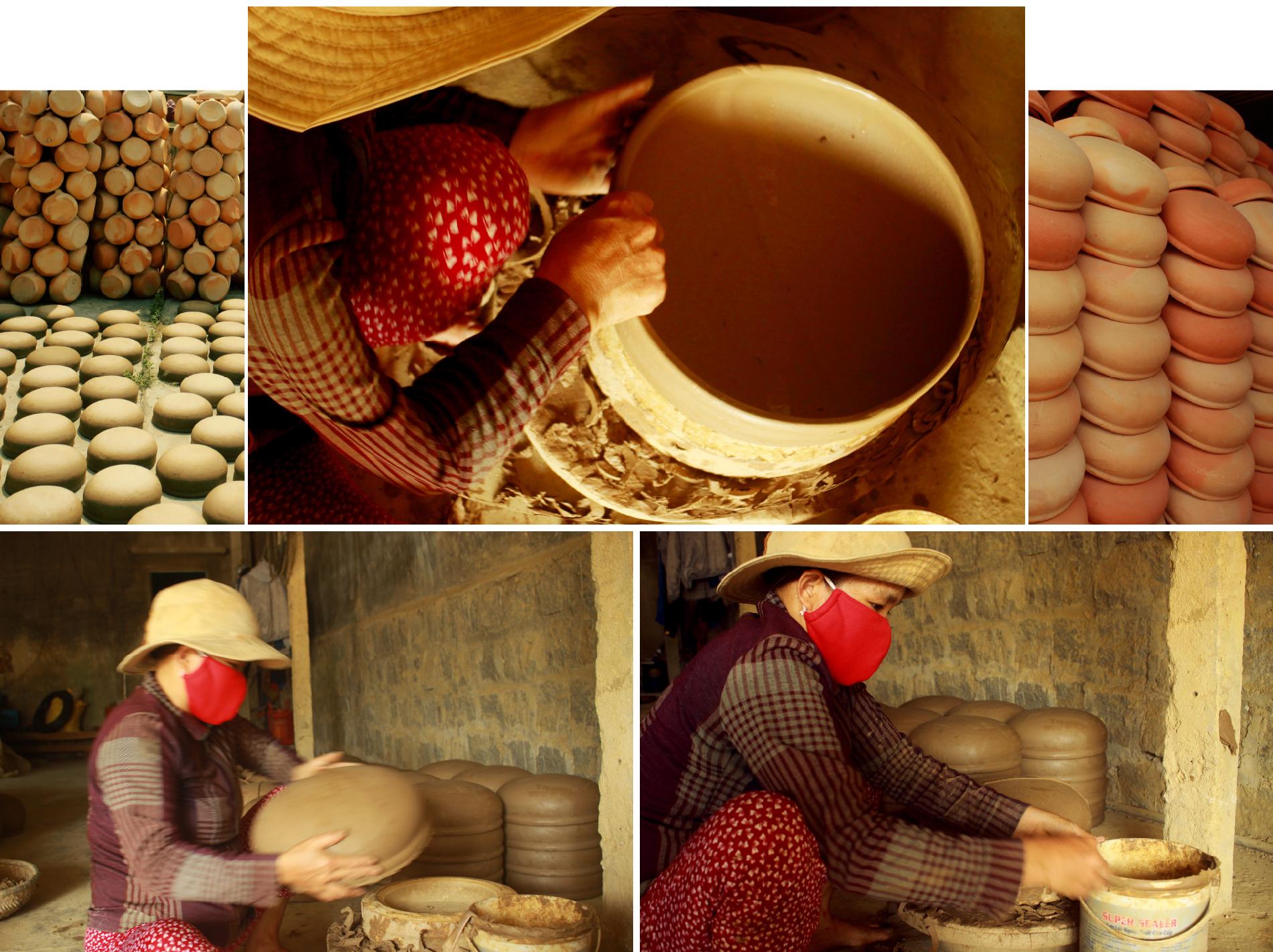 Làng gốm Trung Sơn - Làng của những chiếc nồi gốm nung ảnh 10
