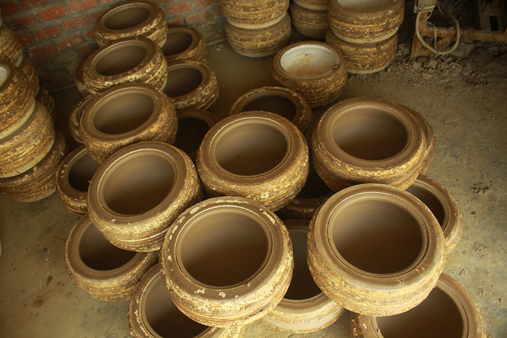 Làng gốm Trung Sơn - Làng của những chiếc nồi gốm nung ảnh 13