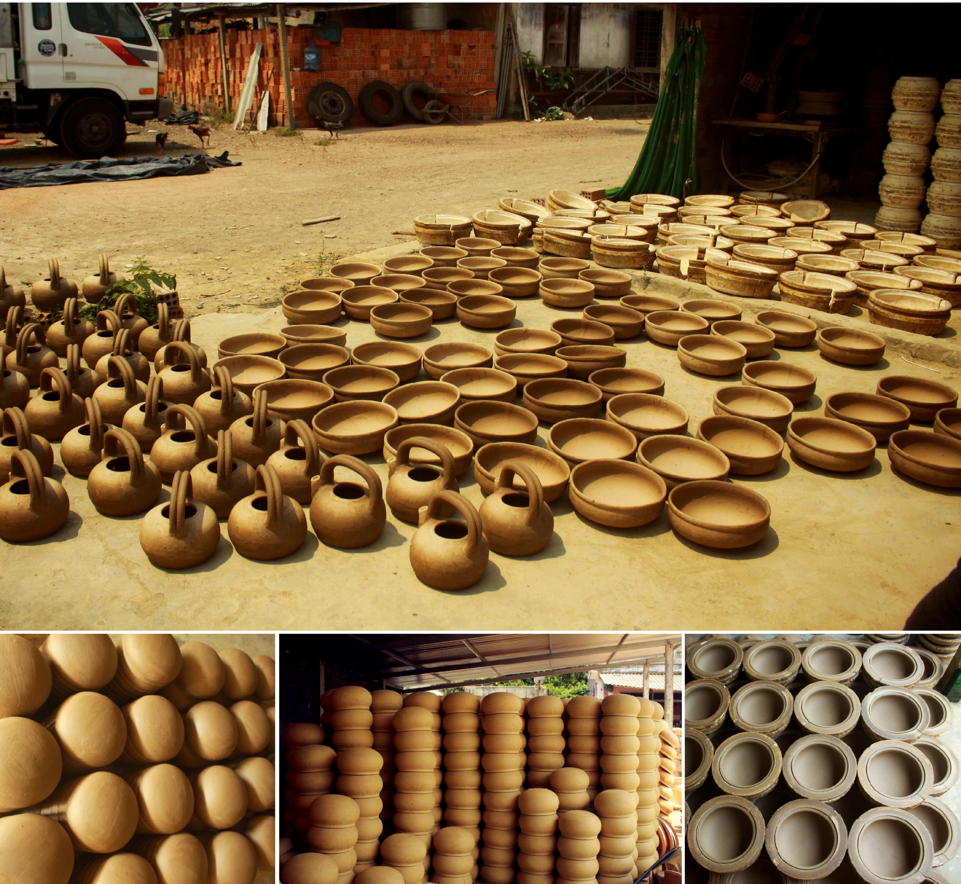 Làng gốm Trung Sơn - Làng của những chiếc nồi gốm nung ảnh 15