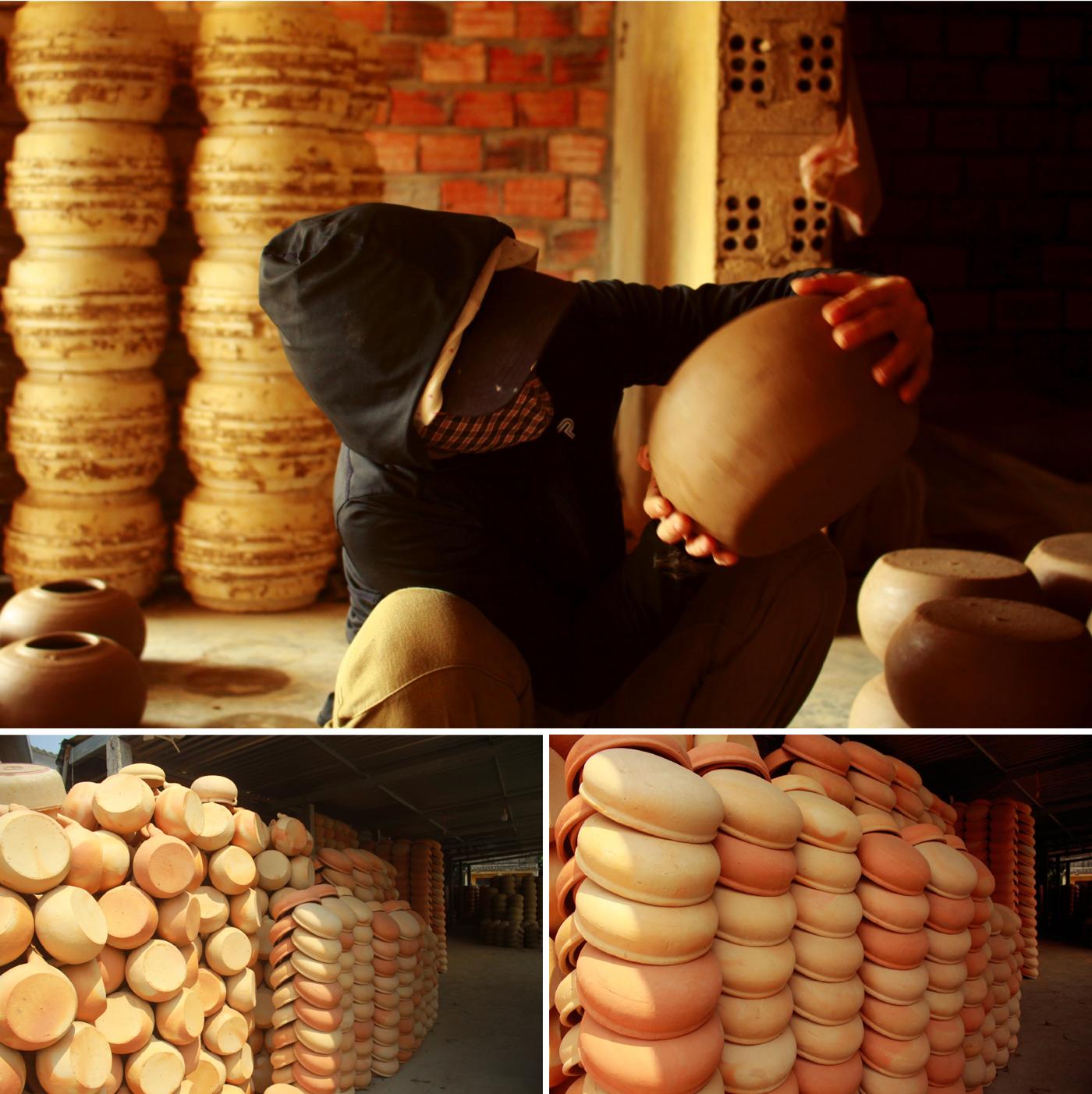 Làng gốm Trung Sơn - Làng của những chiếc nồi gốm nung ảnh 17