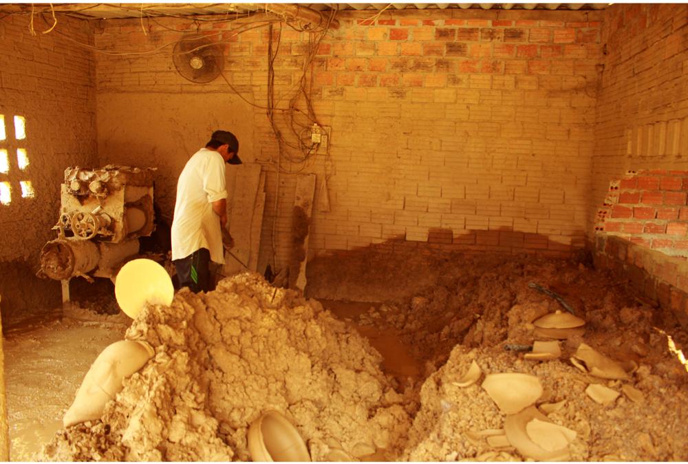 Làng gốm Trung Sơn - Làng của những chiếc nồi gốm nung ảnh 4