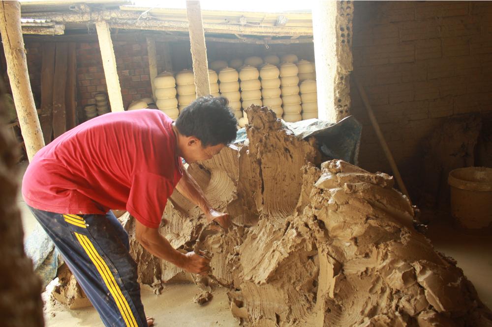 Làng gốm Trung Sơn - Làng của những chiếc nồi gốm nung ảnh 6
