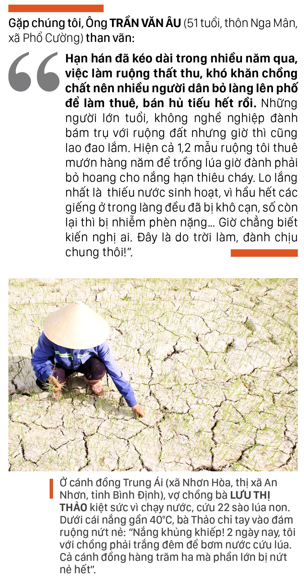 Nông dân vật vã dưới nắng nóng khốc liệt ảnh 5