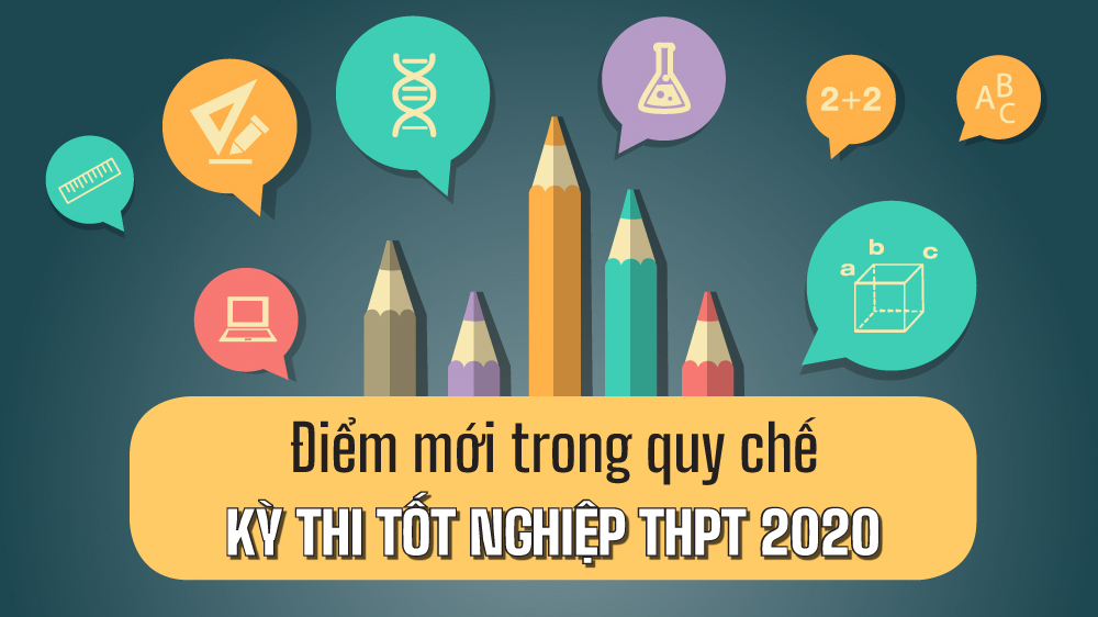 Điểm mới trong quy chế kỳ thi tốt nghiệp THPT 2020