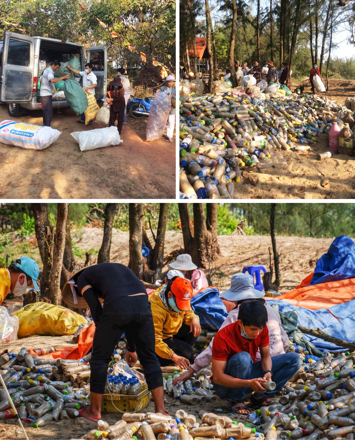 Độc đáo ngôi chùa được xây bằng 60.000 vỏ chai nhựa  ảnh 8