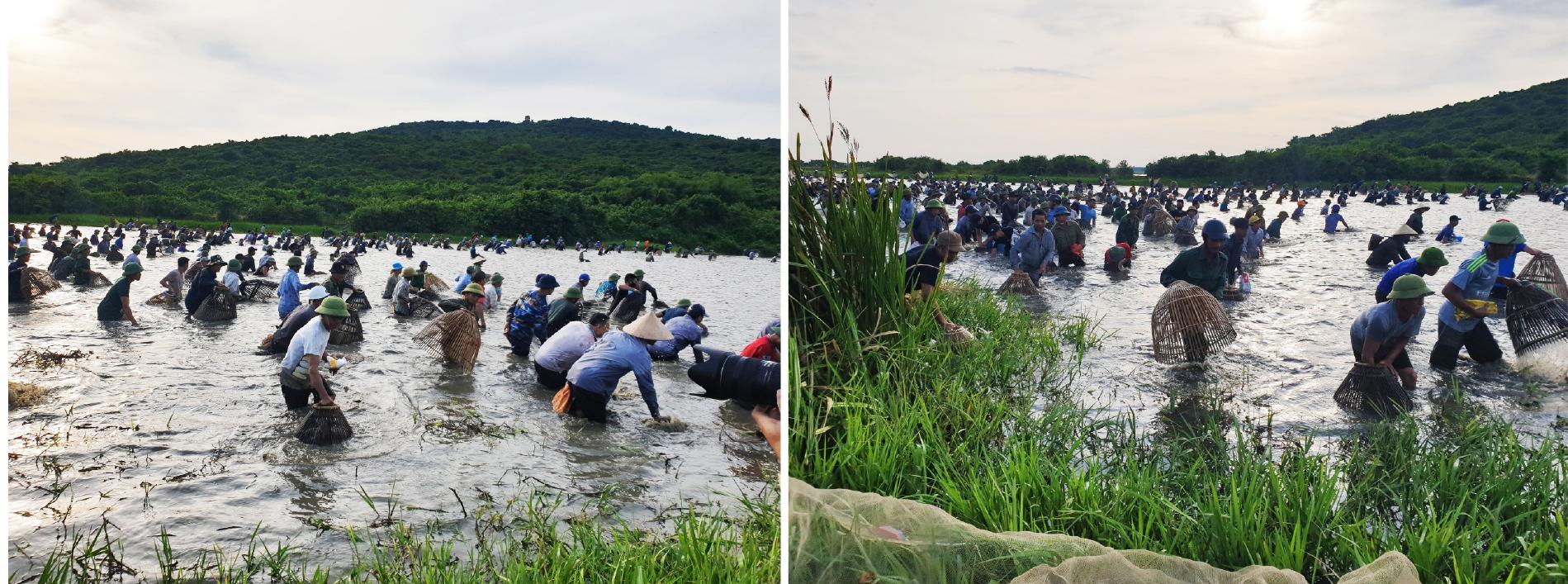 Độc đáo lễ hội đánh cá Đồng Hoa ảnh 12