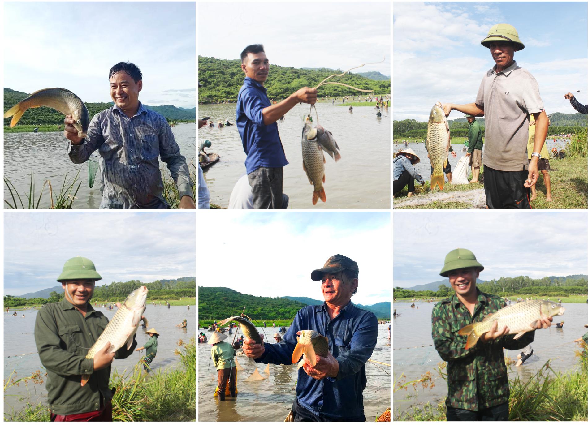 Độc đáo lễ hội đánh cá Đồng Hoa ảnh 17