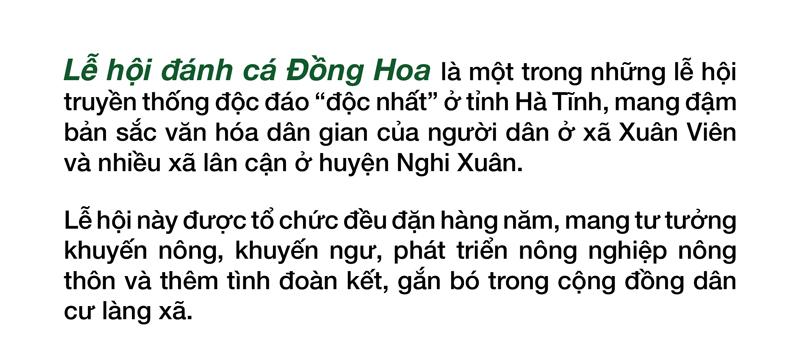 Độc đáo lễ hội đánh cá Đồng Hoa ảnh 6