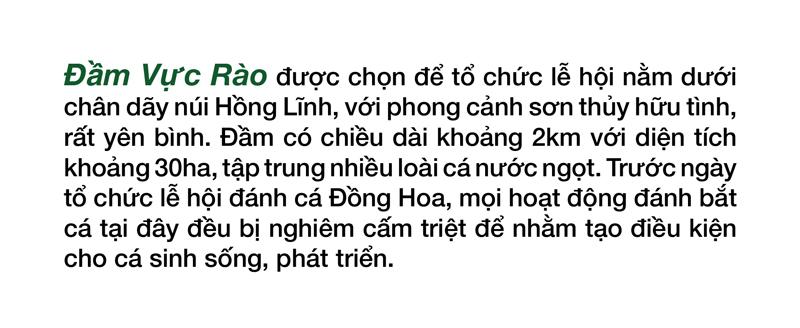 Độc đáo lễ hội đánh cá Đồng Hoa ảnh 8