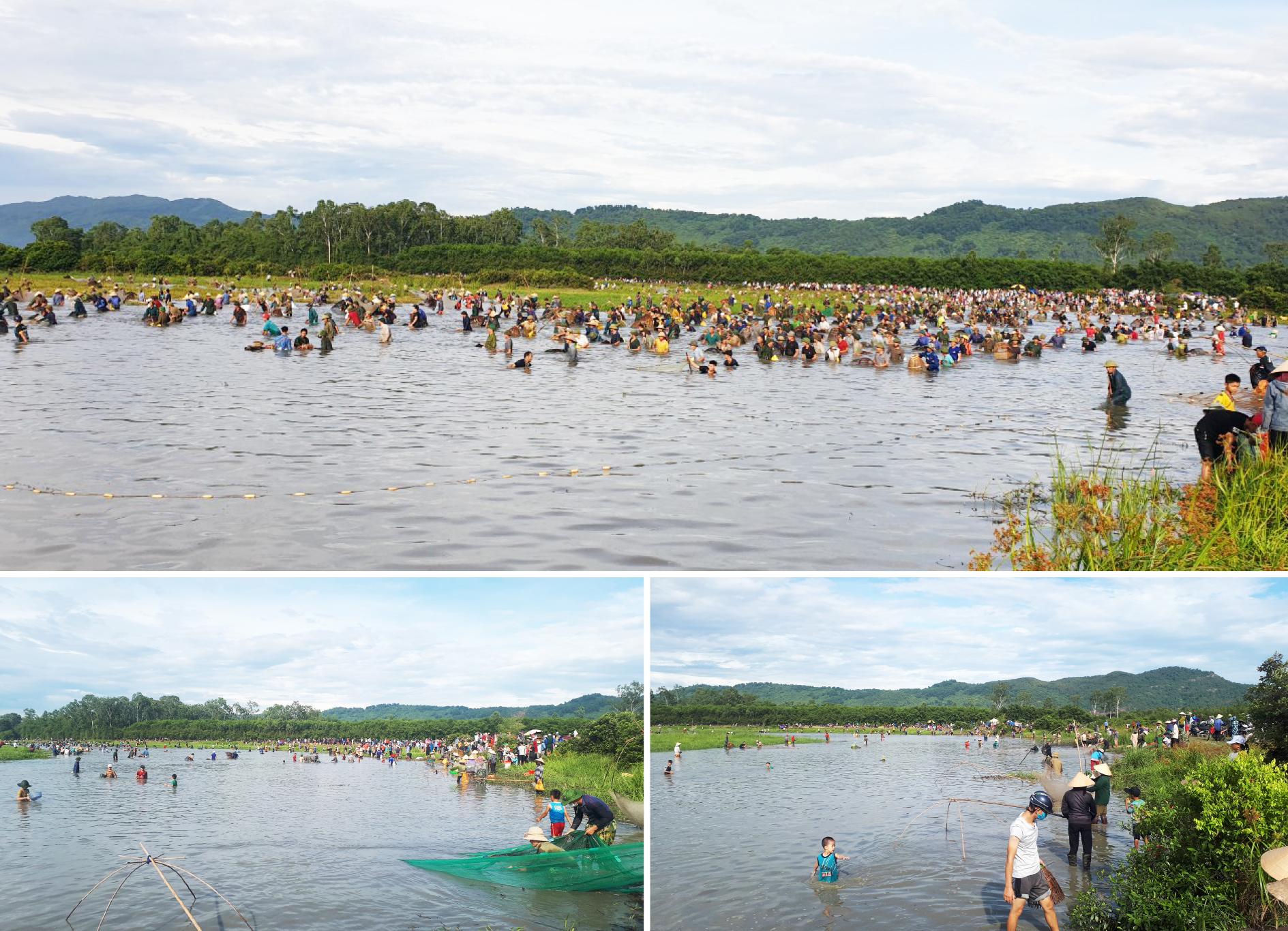 Độc đáo lễ hội đánh cá Đồng Hoa ảnh 9