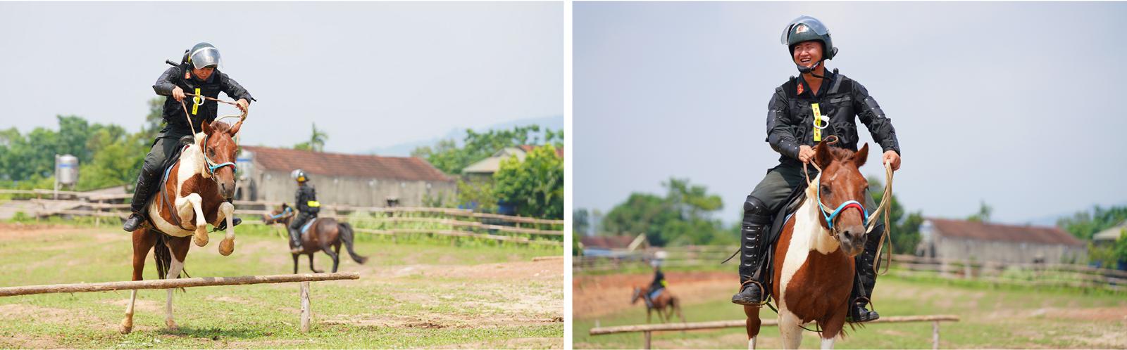 Cảnh sát cơ động Kỵ binh huấn luyện ngựa nghiệp vụ ảnh 16