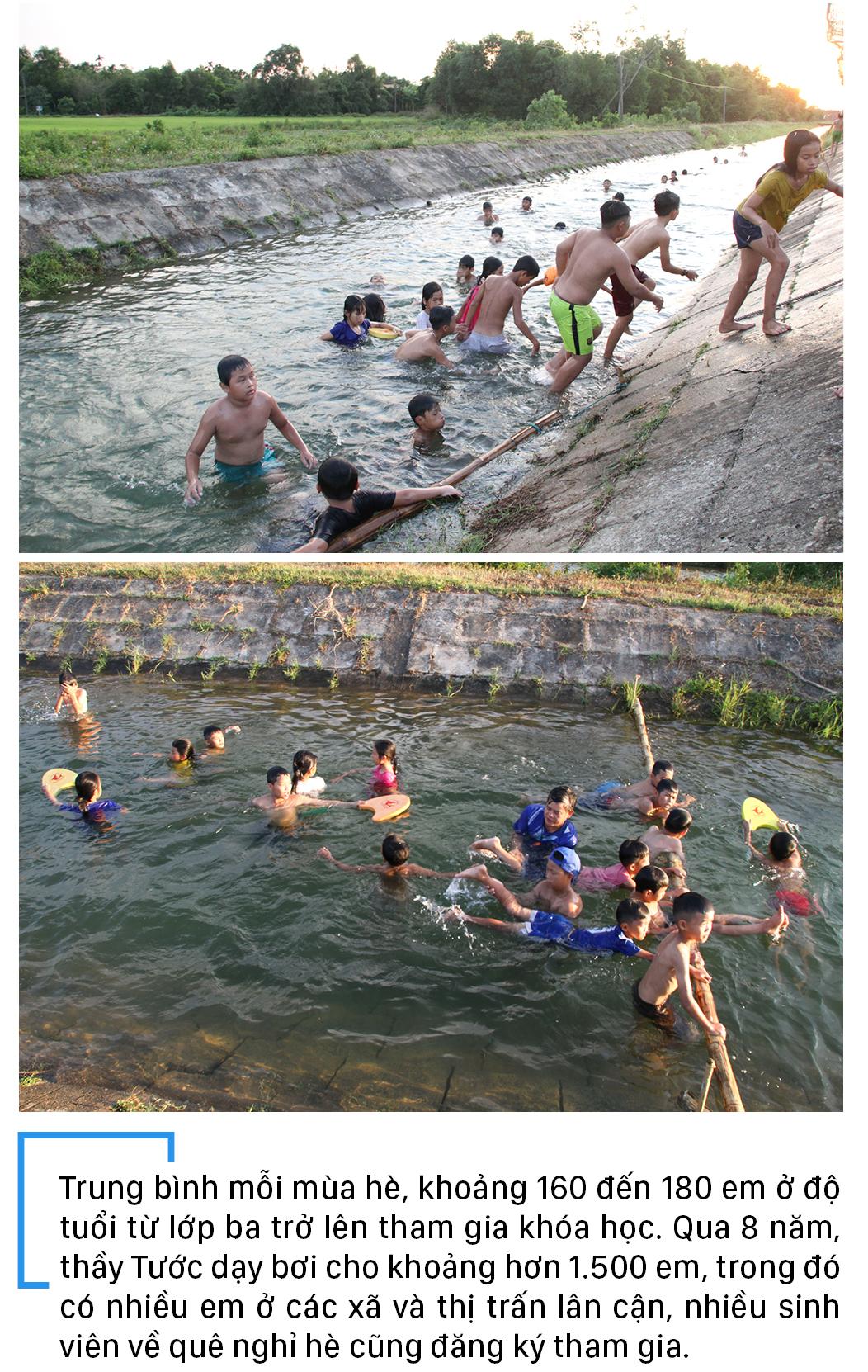 Thầy giáo 'nắn' dòng kênh thủy lợi mở lớp dạy bơi miễn phí ảnh 17