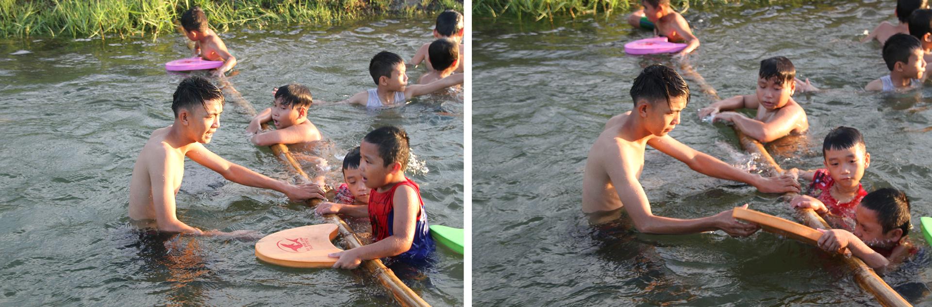 Thầy giáo 'nắn' dòng kênh thủy lợi mở lớp dạy bơi miễn phí ảnh 18