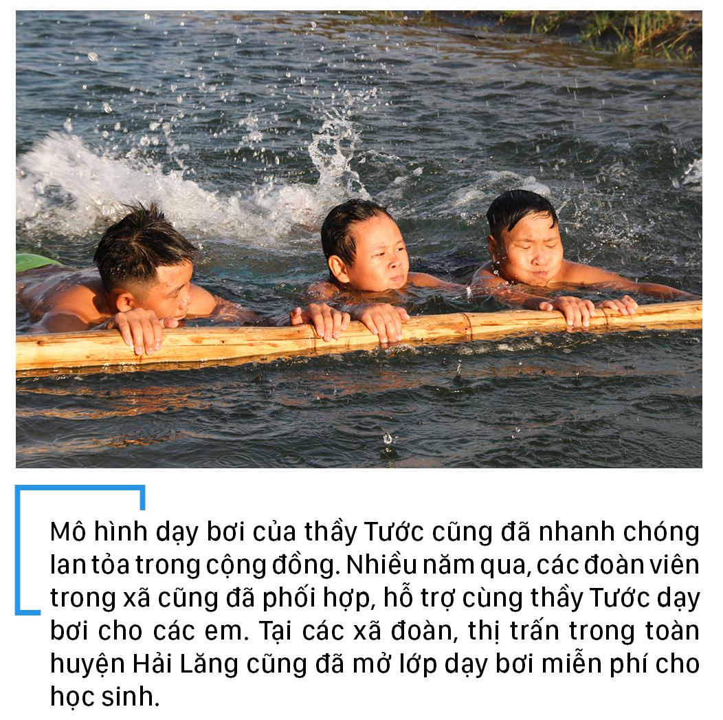 Thầy giáo 'nắn' dòng kênh thủy lợi mở lớp dạy bơi miễn phí ảnh 26