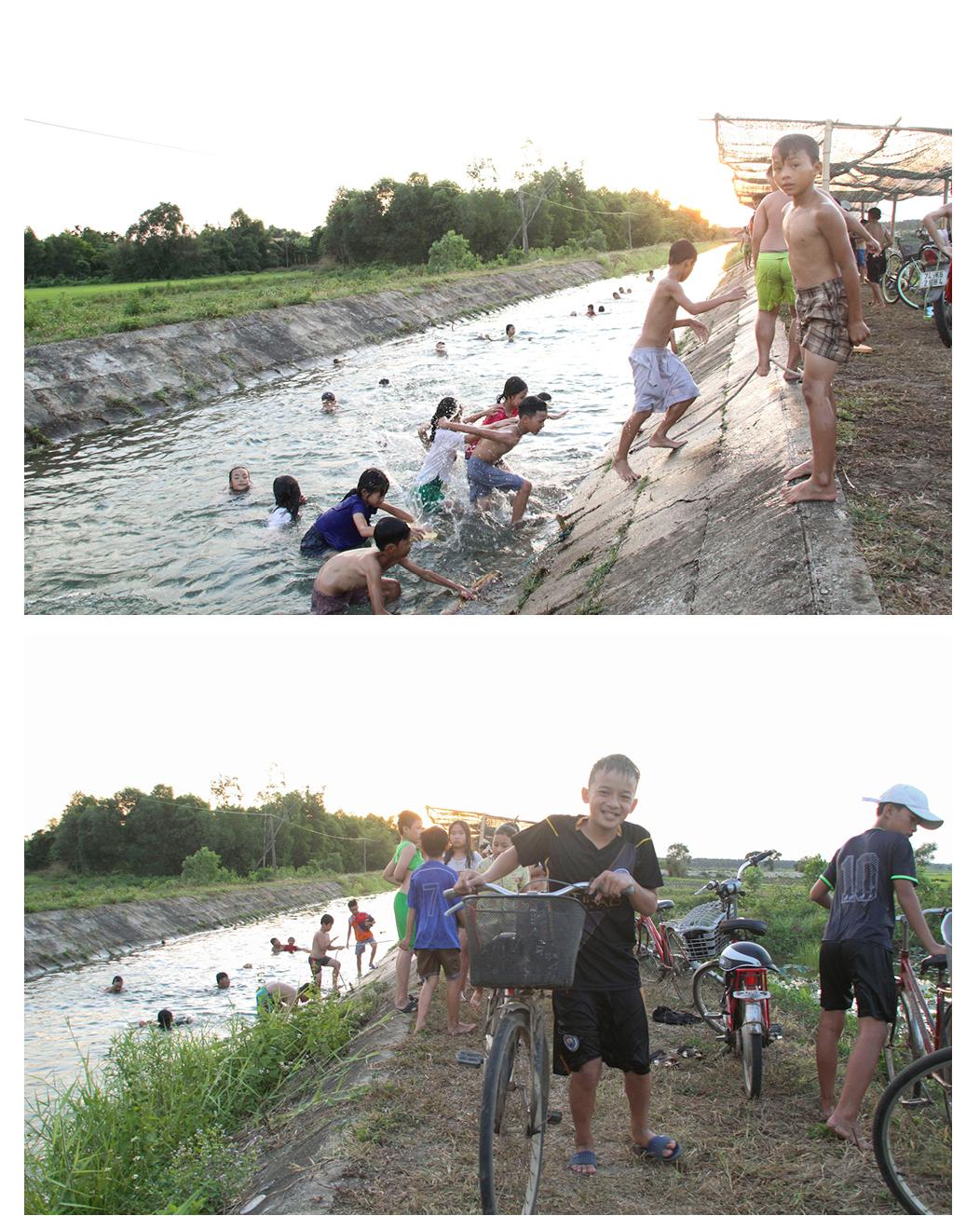 Thầy giáo 'nắn' dòng kênh thủy lợi mở lớp dạy bơi miễn phí ảnh 27