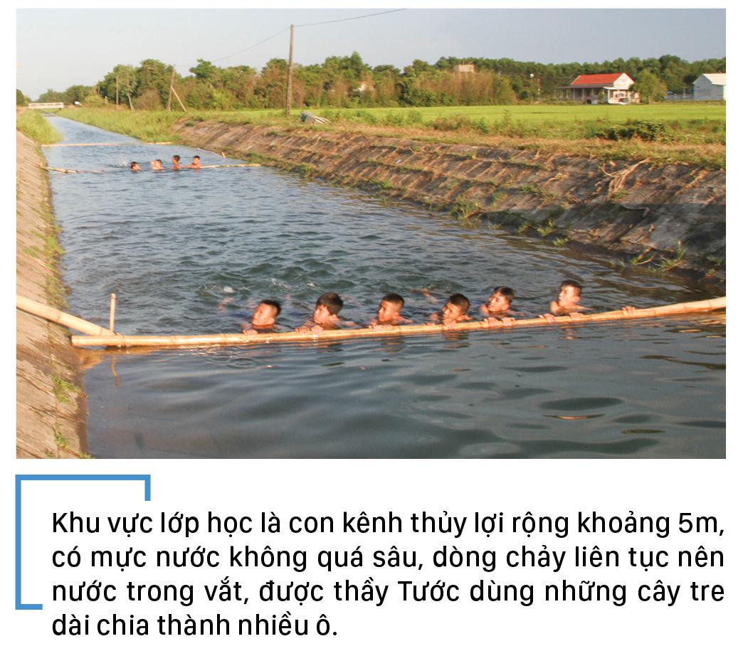 Thầy giáo 'nắn' dòng kênh thủy lợi mở lớp dạy bơi miễn phí ảnh 9