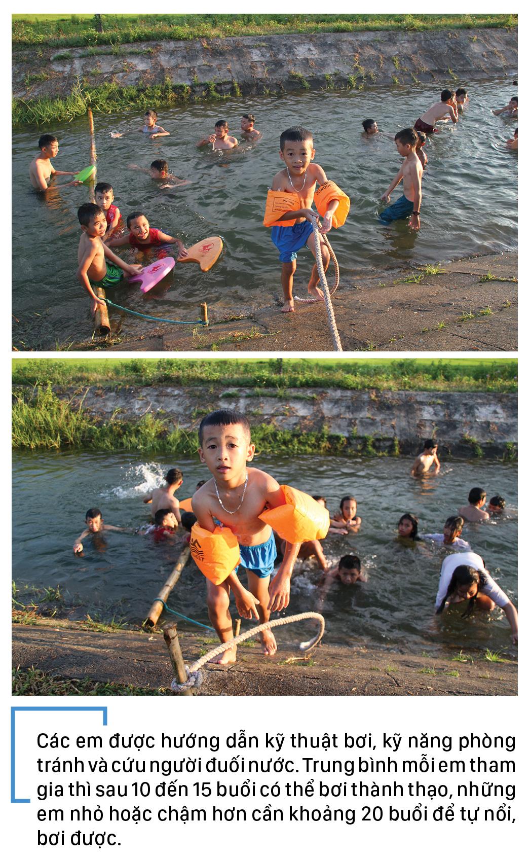Thầy giáo 'nắn' dòng kênh thủy lợi mở lớp dạy bơi miễn phí ảnh 12
