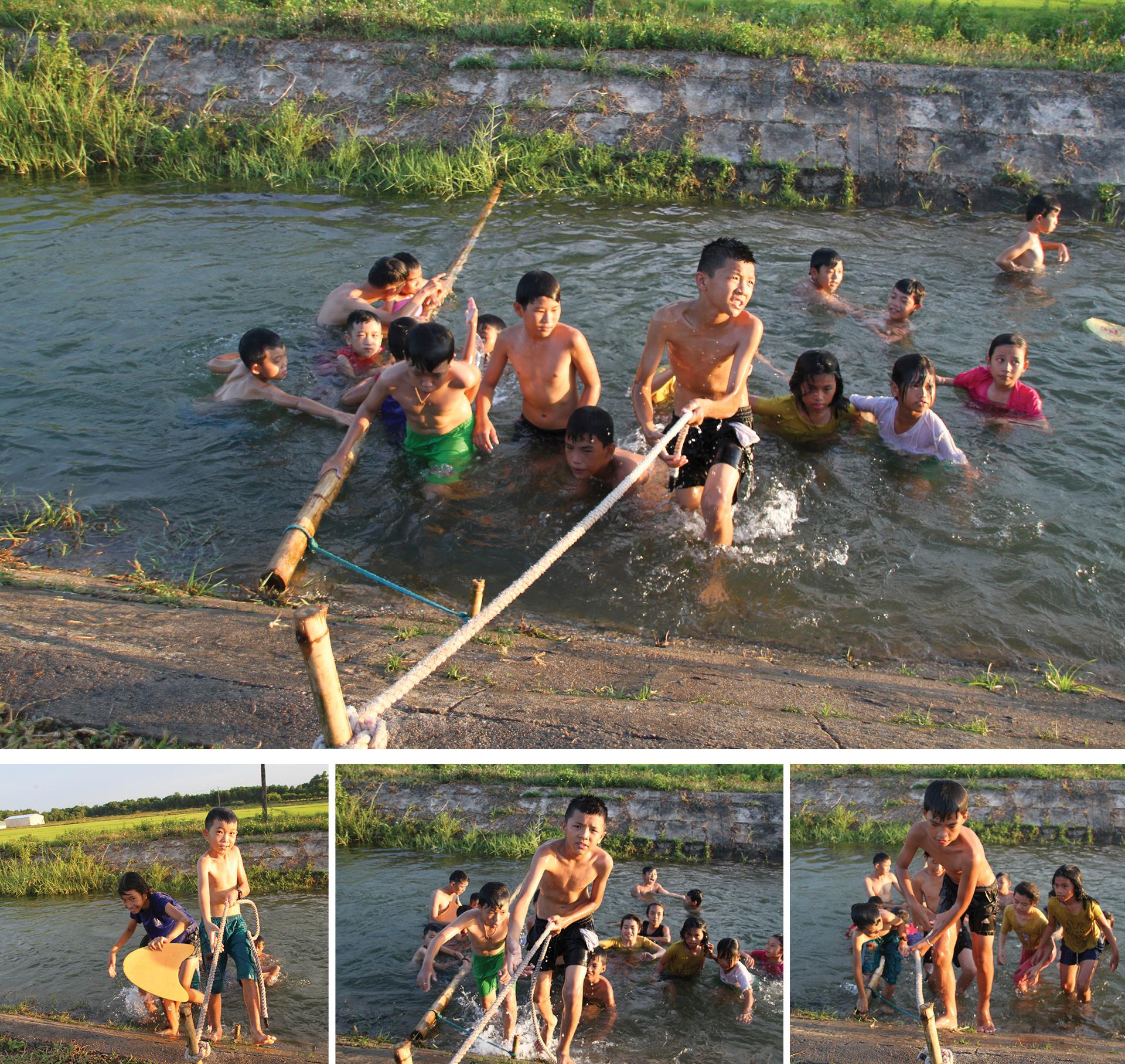 Thầy giáo 'nắn' dòng kênh thủy lợi mở lớp dạy bơi miễn phí ảnh 13
