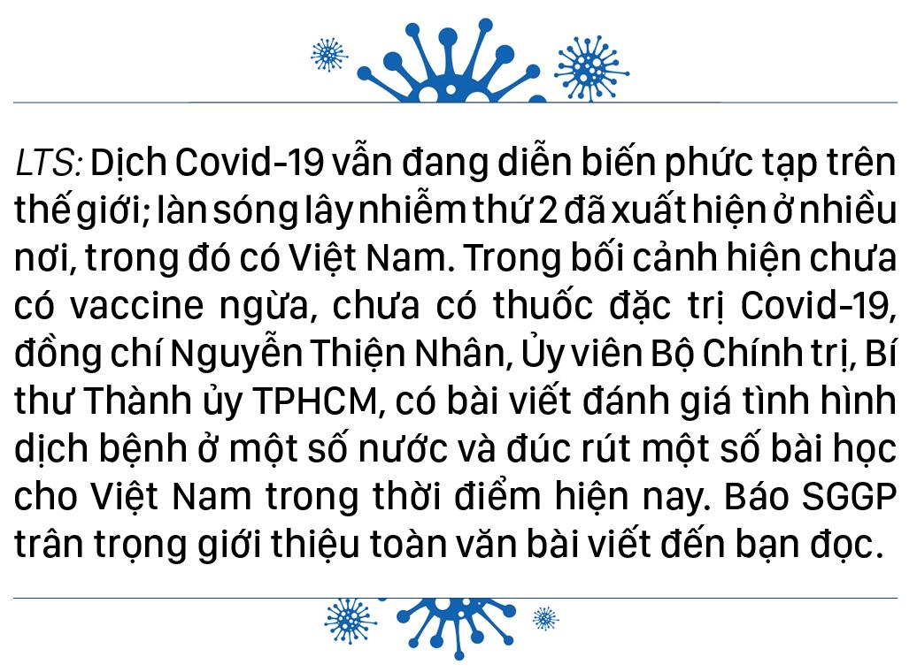 Dịch Covid-19 trên thế giới: Các nước đang bước vào làn sóng Covid-19 lần thứ 2 và bài học cho Việt Nam    ảnh 1