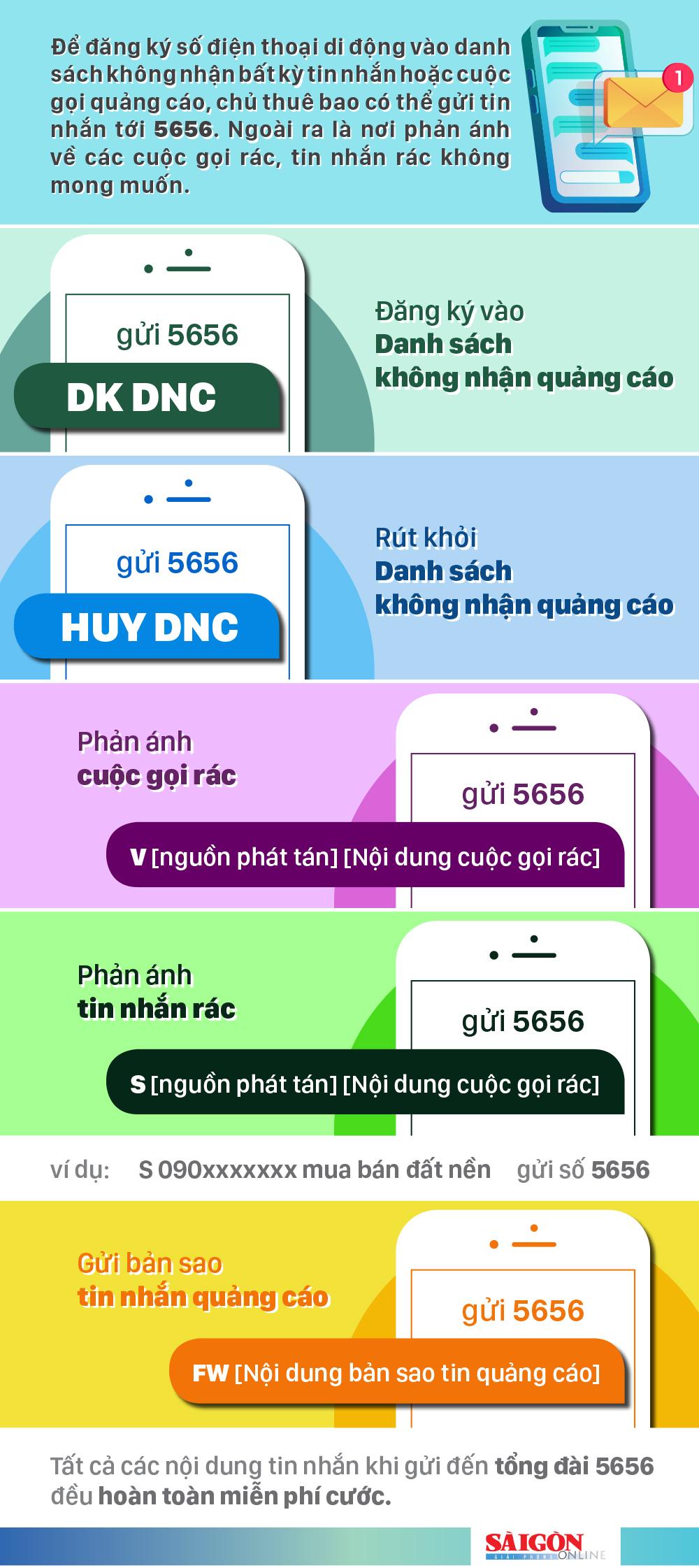 Cách đăng ký không nhận quảng cáo trên điện thoại ảnh 1