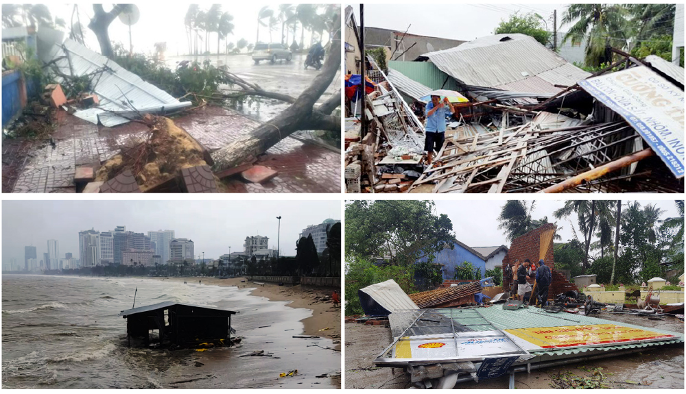 Những cơn bão lớn đổ bộ Việt Nam trong 20 năm qua ảnh 6