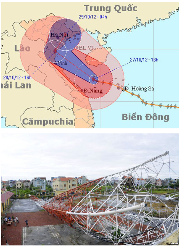 Những cơn bão lớn đổ bộ Việt Nam trong 20 năm qua ảnh 16