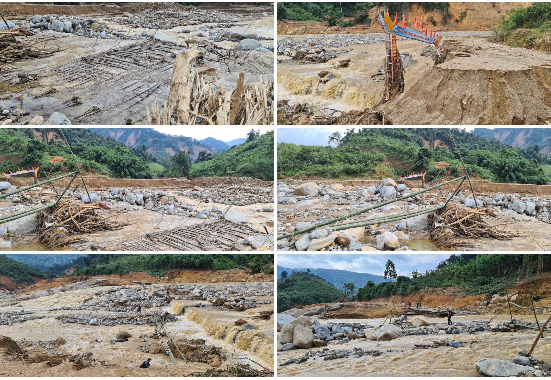 Phước Lộc tan hoang sau bão ảnh 12